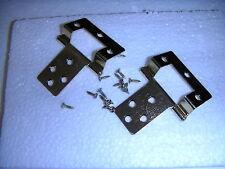 DOLLS HOUSE DIY 2 crank  hinges & screws  2 inch
