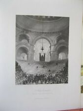 Vintage Print,ST.PAULS CATHEDRAL,London,19th Century