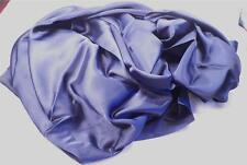 """Navy Blue Charmeuse Fabric 1.5 Yds 45"""" Wide Shiny Silky Quality NOS"""