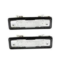 BMW Set of 2 License Plate Lights for E12 E23 E24 E28 E30 OEM HELLA 63261372763