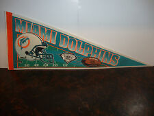 Pennant---Miami Dolphins---With NFL75 Emblem---1994---30x12