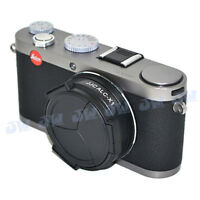 JJC Self-Retaining AUTO OPEN CLOSE LENS CAP PROTECTION For LEICA X1 X2 Camera