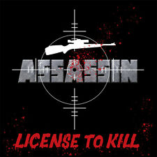 ASSASSIN - License to Kill (NEW*LIM.500 RERELEASE*US METAL 1983*MALICE*OVERLORD)