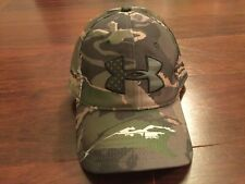 GUC Under Armour Snapback Hunting Camo Ball Cap Ridge Reaper Forest Freedom Flag