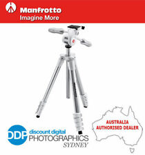 Manfrotto Aluminium Camera Tripods & Monopods with Case