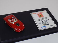 1/43 BBR Ferrari Rossa Signed Ferrari Club of America Exclusive Lmtd 35 pcs