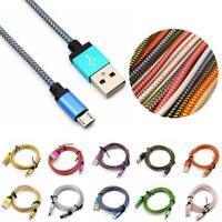 1-3M Micro USB Schnellladekabel für Samsung Android USB 2.0 H3F7 H3O7