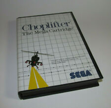 Choplifter (Sega Master System, 1986) SMS Game & Case Nice Shape Authentic