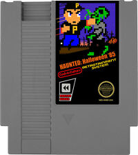 Haunted: Halloween '85 NES Nintendo Homebrew Video Game Classic Gray Cartridge