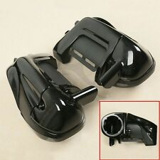 Lower Vented Leg Fairing + Speaker Box Pods For Harley Road Street Electra Glide