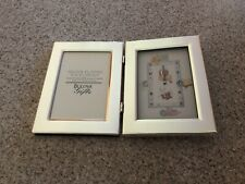 Bulova Children's Picture Frame And Battery Operated Clock