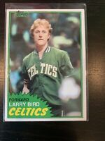Larry Bird 1981-82 Topps Basketball Card #4 2nd Year Boston Celtics