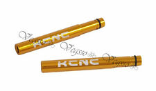 NEW KCNC PRESTA VALVE EXTENDERS EXTENSION 50MM AL6061 - 2pcs, GOLD