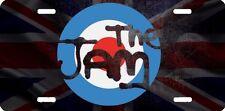 airbrushed aluminum The Jam beautiful car tag  license plate