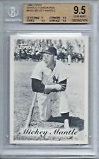 1996 Topps Mantle Mickey Mantle New York Yankees #9 Baseball Card