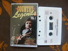 K7 Audio COUNTRY LEGENDS Vol.1  100.042 Switzerland