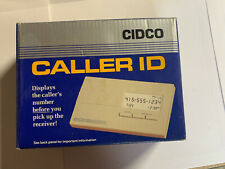 New Cidco Caller Id With Call Blocker Never Open Or Used Vintage Collectible