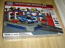 MEGABLOKS NEED FOR SPEED CUSTOM MCLAREN GARAGE 95769 - BOXED AND COMPLETE