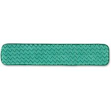 """Rubbermaid Dry Room Pad Nonabrasive Withstands 300 Washes 24"""" Green Q42400Gr00"""