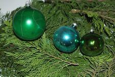Christbaumkugeln Weihnachtsschmuck Christbaumschmuck Weihnachten blau / grün