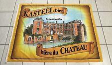 GRAND DRAPEAU OFFICIEL BIERE DU CHATEAU BELGE BEER KASTEEL BIER INGELMUNSTER