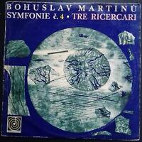 Martinu - Symphony No. 4, Tre Ricercari, TURNOVSKY, CPO, Supraphon Mono