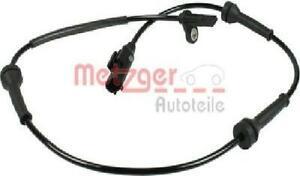 Original metzger Sensor Wheel Speed 0900125 for Fiat Ford