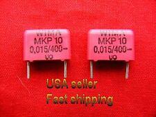 12 pcs -  .015uf (0.015uf, 15nf)  400v metalized film capacitors FREE SHIPPING