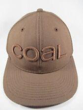 Coal Brown Adjustable Baseball Golf Tennis Sports Hat Cap Great Condition