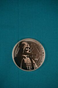 2018 NIUE 1 OZ SILVER STAR WARS DARTH VADER COINS 20 TOTAL UNCIRCULATED SEALED
