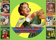 Detective Pulp Magazines On DVD Rom