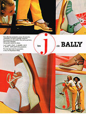PUBLICITE ADVERTISING 025  1979  BALLY  les chausures J