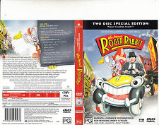Who Framed Roger Rabbit-1988-Bob Hoskins-[2 Disc]-Movie-DVD