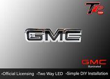 2000 - 2013 GMC Sierra LED Tailgate Logo Emblem - Black
