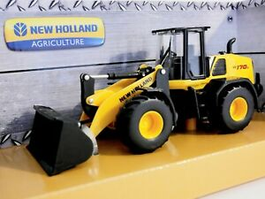 New Holland Front Loader W170D Die Cast Metal Bburago.1:50 Scale  Farm Model Toy