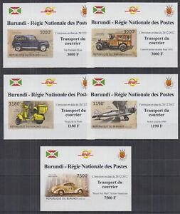 H838. Burundi - MNH - Transport - Courier - Deluxe - Imperf