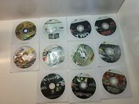 11x Games Bundle   Ps2   Wii   Xbox 360   Ps3   Spongebob   Condemned   Grid