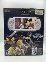 PSP 3000 Kingdom Hearts Birth By Sleep Entertainment Pack Mystic Silver Mint Con