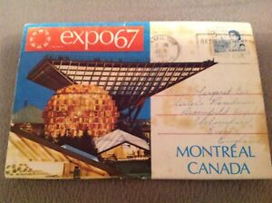 EXPO'67 INTERNATIONAL EXHIBITION, MONTREAL - CANADA LETTERCARD used