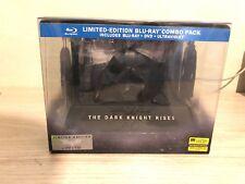 Blu-Ray The Dark Knight Rises Limited Edition Bat Cowl 3-DISC Set New Sealed