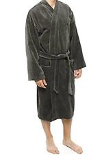 Men's Polo Ralph Lauren Dark Gray BATHROBE Size Small Medium NWOT