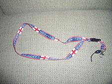 ENGLAND Lanyard Mobile Phone IPod &Keys Strap NEW