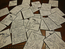 30 Dr. Suess COlor your own STICKERS, birthday party favors, loot teacher school
