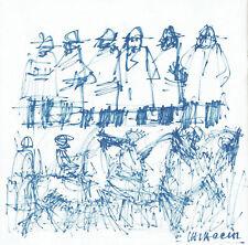 VASCO VALACCHI - 8 Disegni Originali su catalogo monografico 1973