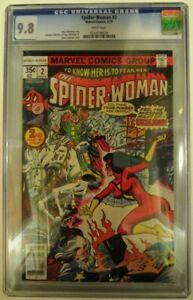Spider-Woman 2 cgc 9.8 White 1978