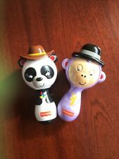 Fisher Price Shaking Maracas Kids/Toddler Shaking Rattle Musical Toy 3y+