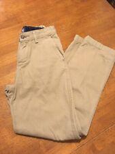 Boys Slacks J Khaki Pants 14 Slim GUC