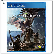 PS4 Monster Hunter: World  ENG / 怪物猎人 世界 中英文版 SONY Capcom Action RPG Games