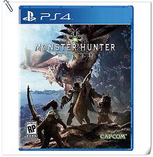 PS4 Monster Hunter: World  ENG / 怪物猎人 世界 中英文版 SONY Capcom Action RPG Games