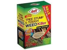 Super Strength Tree Stump & Tough Weed Killer Kills To The Roots 2x100ml Sachets